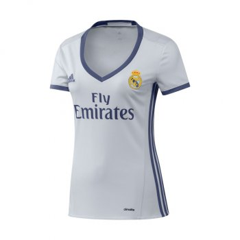 Adidas Real Madrid 16/17 (H) S/S Woman WHT AI5188