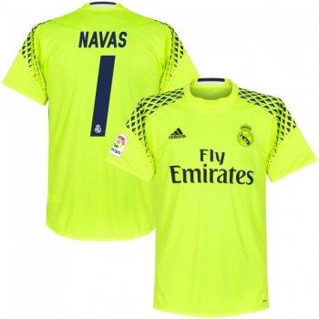 Adidas Real Madrid 16/17 (A) GK YEL B41453 With Name Set