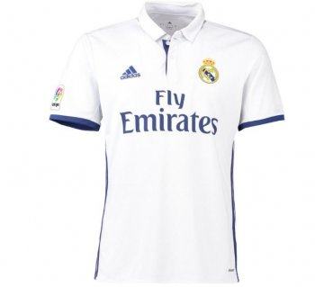 Adidas Real Madrid 16/17 (H) S/S WHT S94992