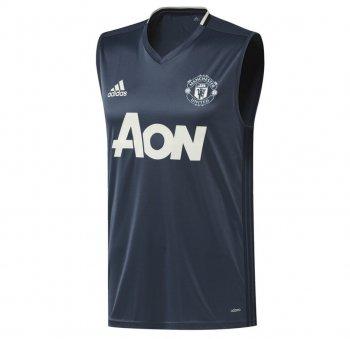 Adidas Manchester United 16/17 Training Vest BLU AP0996
