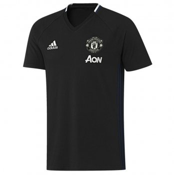 Adidas Manchester United 16/17 Tee BLK AP1002