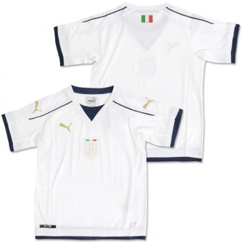 Puma National Team Euro 2016 Italy (A) Kids Shirt WHT 749576-04