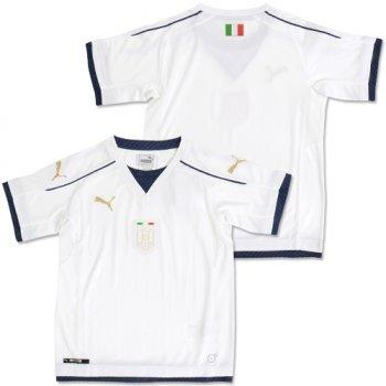 Puma National Team Euro 2016 Italy (A) Kids Shirt WHT 749576-04