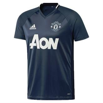 Adidas Manchester United 16/17 Training Jersey Youth BLU B30676