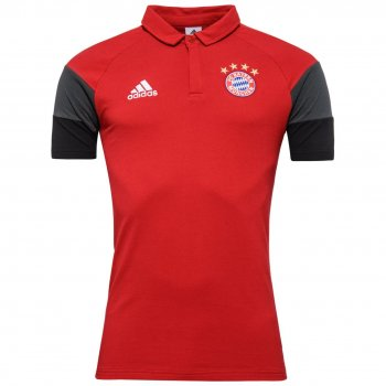 Adidas FC Bayern 16/17 Polo RED B30921
