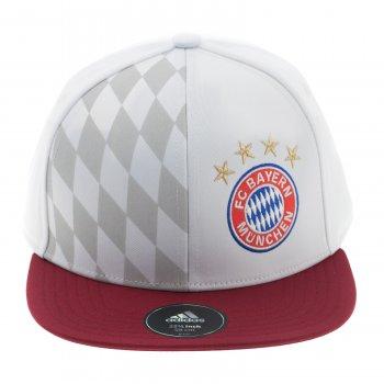 Adidas FC Bayern 16/17 Flat Cap WHT S95118