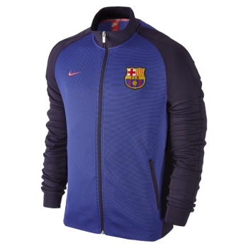 Nike FC Barcelona 16/17 Authentic N98 Track Jacket Purple 777311-524