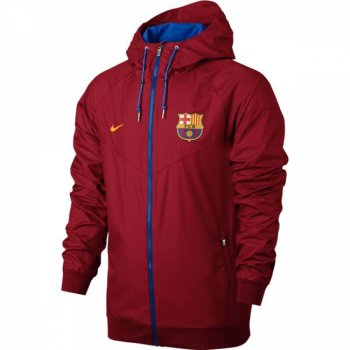 Nike FC Barcelona 16/17 NSW WR Woven Authentic Jacket RD 810302-687