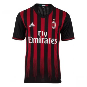 Adidas AC Milan 16/17 (H) S/S AU BLK-RED AI6905