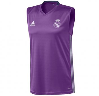 Adidas Real Madrid 16/17 Vest Training SL PUR AO3120