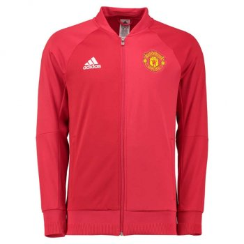 Adidas Manchester United 16/17 ANTH Jacket Youth RD AP1796