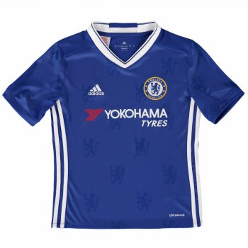 Adidas Chelsea 16/17 (H) S/S Jersey Youth BLU AI7124