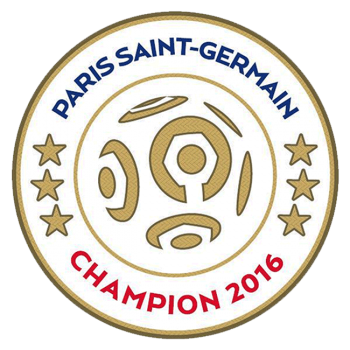 Ligue 1 16/17 Champion Badge (PSG)