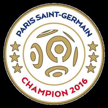 Ligue 1 16/17 Champion Badge (PSG)