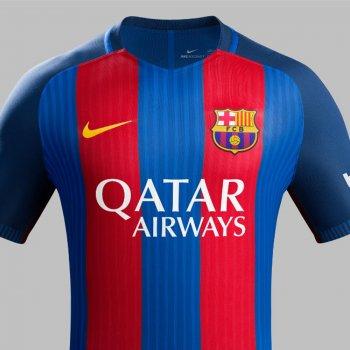 FC Barcelona 16/17 Sponsor QATAR