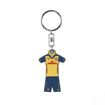 Puma Arsenal Shirt Keyring Yellow-Estate Blue 052635-02