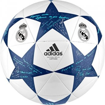 Adidas Champions League FINALE16 Real Madrid 16/17 Capitano AP0390 SIZE:4