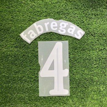 Arsenal 09/11 (H) UCL Name Set #4,#10