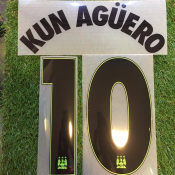 Manchester City 15/16 (3RD) UCL NameSet (10.14)