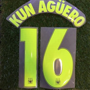 Manchester City 14/15 (3RD) UCL NameSet #16