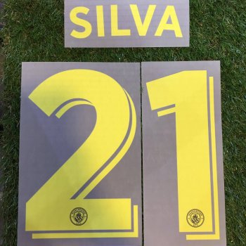 Manchester City 16/17 (A) UCL NameSet (10.17.21)
