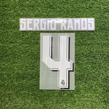 Real Madrid 15/16 (A/3RD)  NameSet