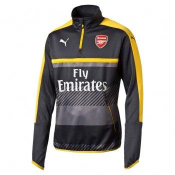 Puma Arsenal 16/17 1/4 Training Top - SA GRY-YEL 749746-03