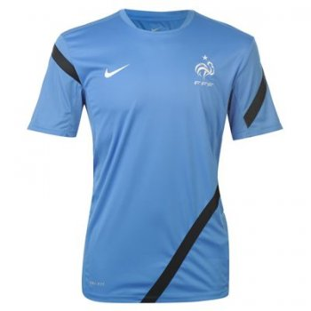 Nike National Team 2012 France Training S/S Blue 449687-404