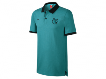 Nike FC Barcelona 16/17 Authentic Slim Polo 777268-393