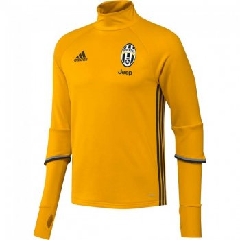 Adidas Juventus 16/17 Training Top Yellow AI7009