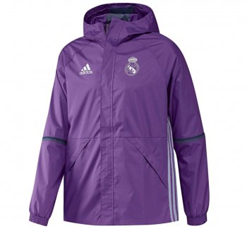 Adidas Real Madrid 16/17 ALLW Jacket Purple AO3066