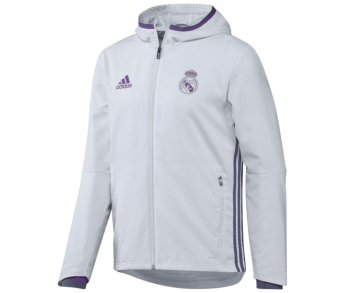 Adidas Real Madrid 16/17 Pre Jacket White AO3092