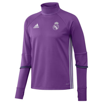 Adidas Real Madrid 16/17 Training Top Purple AO3131