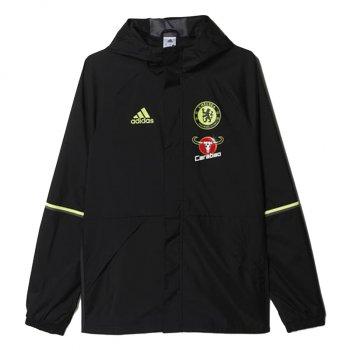 Adidas Chelsea 16/17 AW Jacket BLK AP5587