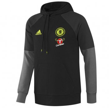 Adidas Chelsea 16/17 Hood Sweater BLK AP5600