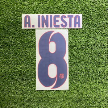 FC Barcelona 12/14 (A) Letters and Numbers