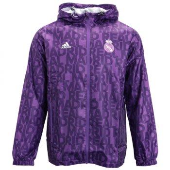 Adidas Real Madrid 16/17 Windbreaker Purple AY2826