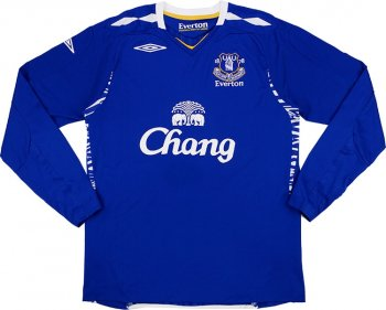 Umbro Everton 07/08 (H) L/S