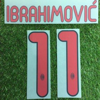 AC Milan 10/11 (A)  Nameset