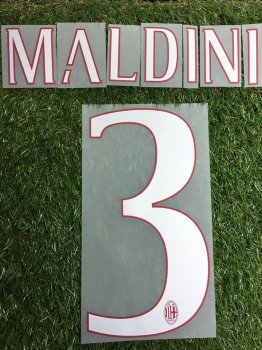AC Milan 16/17 (Legend Player)  Nameset