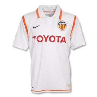 Nike Valencia 07/08 (H) S/S