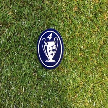 UEFA Champions League 4 Times Badge For Ajax