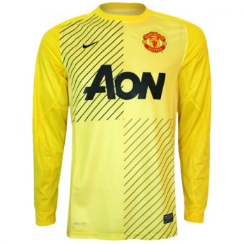 Nike Manchester United 13/14 (H) GK LS 545745-775 With EPL Name Print