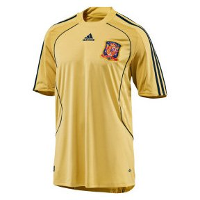 Adidas National Team 2008 Spain (A) S/S