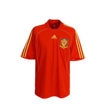Adidas National Team 2008 Spain (H) S/S