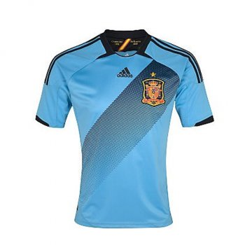 Adidas National Team 2012 Spain (A) S/S X11346 (no nameset)