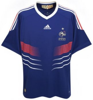 Adidas National Team 2010 France (H) S/S