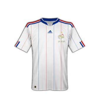 Adidas National Team 2010 France (A) S/S JSY