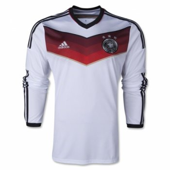 Adidas National Team 2014 World Cup Germany (H) L/S JSY M60435