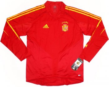 Adidas National Team 2004 Spain (H) L/S